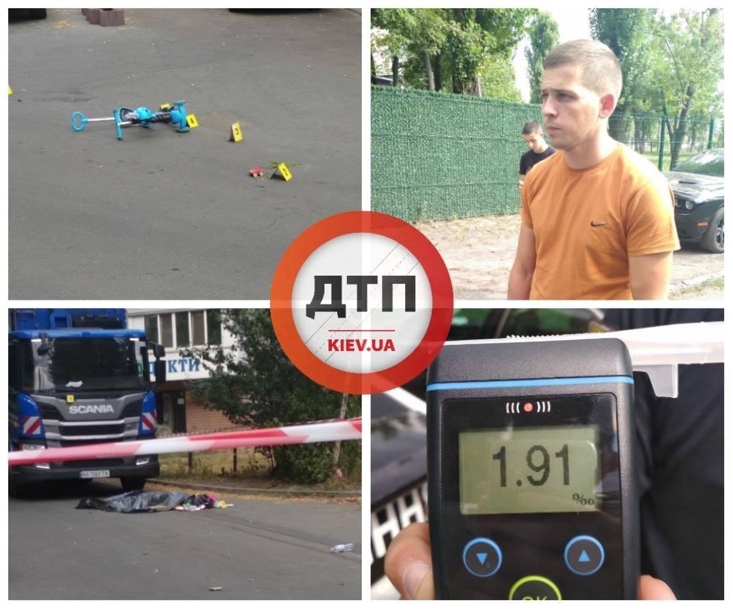 ДТП с мусоровозом в Киеве: под колесами огромной машины оказалась женщина с ребенком - today.ua