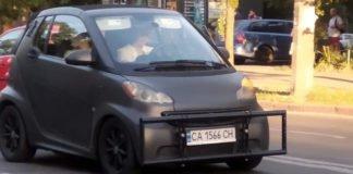 """Українець оригінально захистив свій автомобіль від ударів при ДТП"""" - today.ua"""