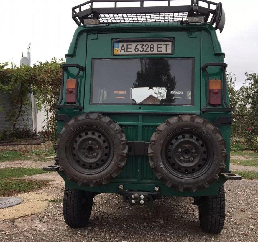 В Сети показали самый крутой тюнингованный ЛуАЗ-969