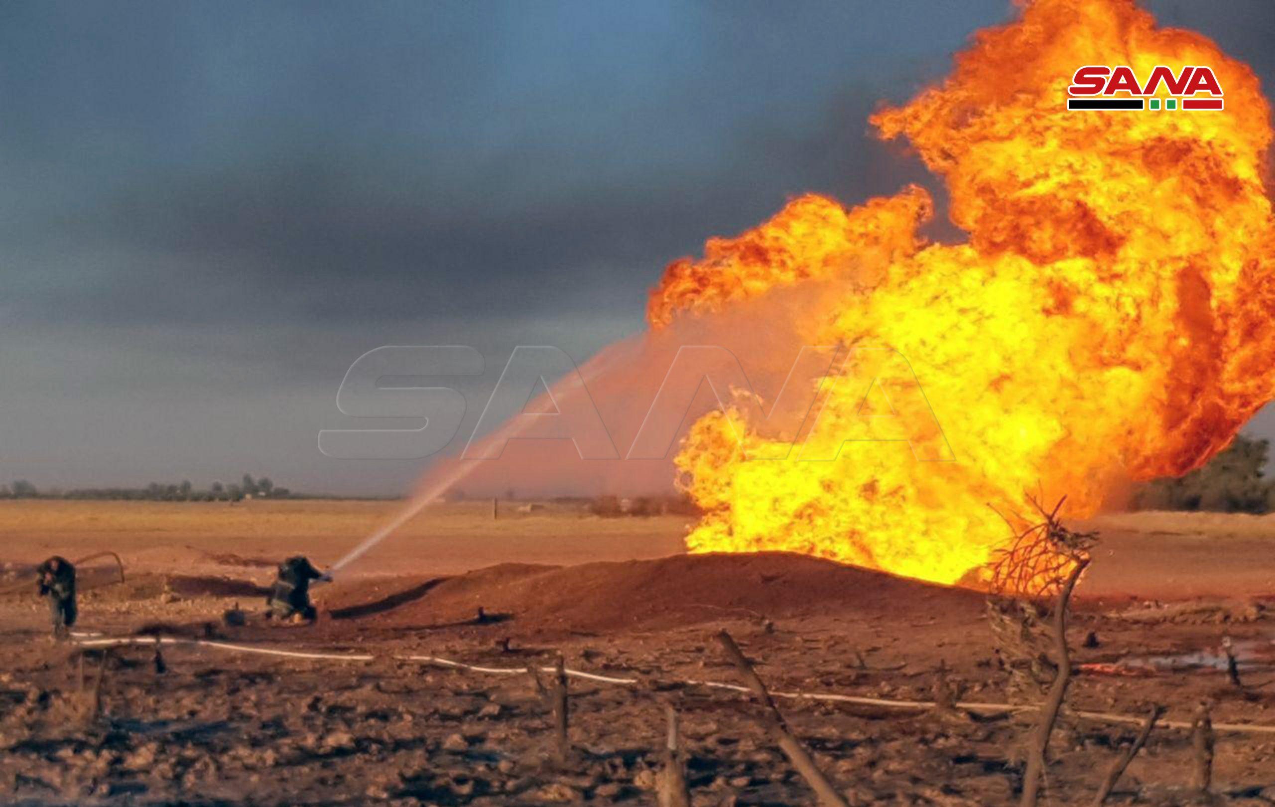 Вибух газопроводу і повний блекаут в Сирії: уряд країни заявляє про масштабний теракт