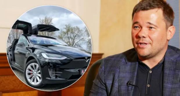 У Києві спалили Tesla Андрія Богдана: всі подробиці - today.ua