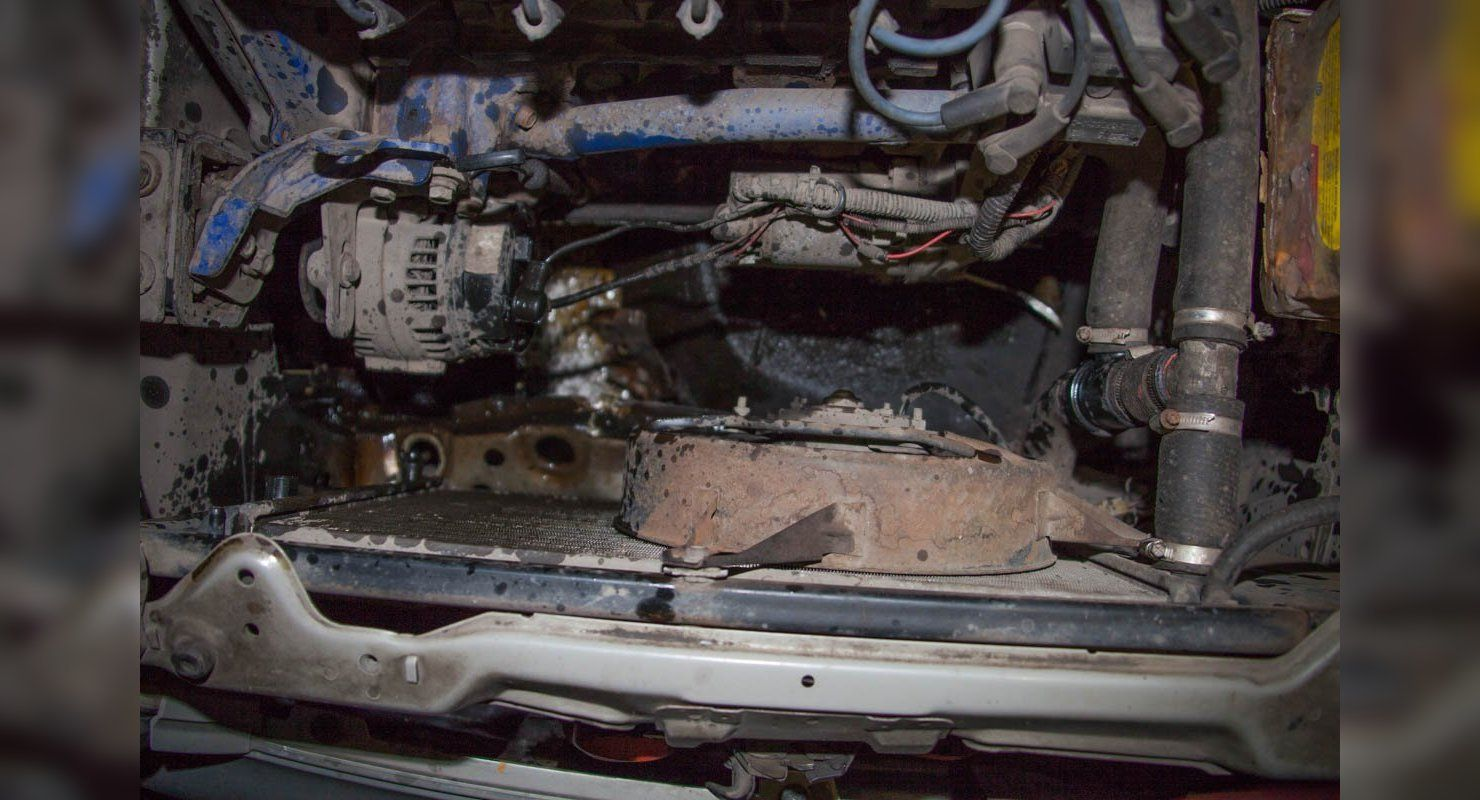 Чем опасен удар в днище машины