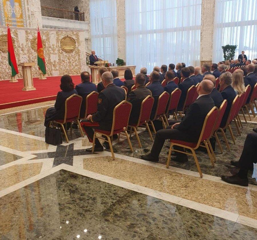 Лукашенко офіційно став президентом Білорусі: як пройшла таємна інавгурація
