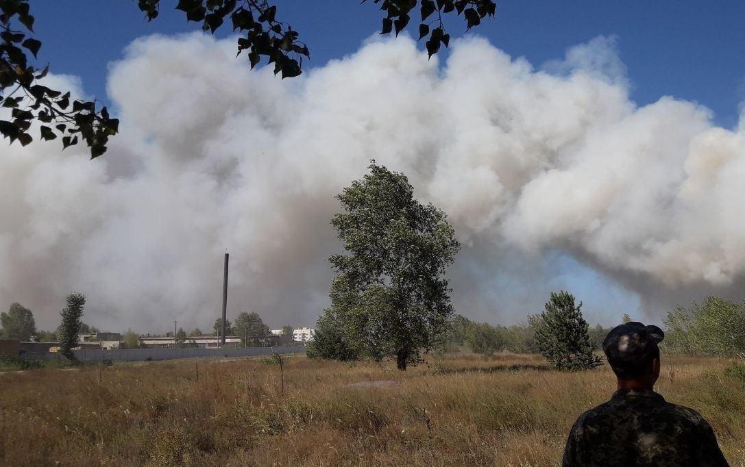 Лісові пожежі в Україні: на Харківщині оголосили НС, а на Луганщині збільшилася кількість жертв