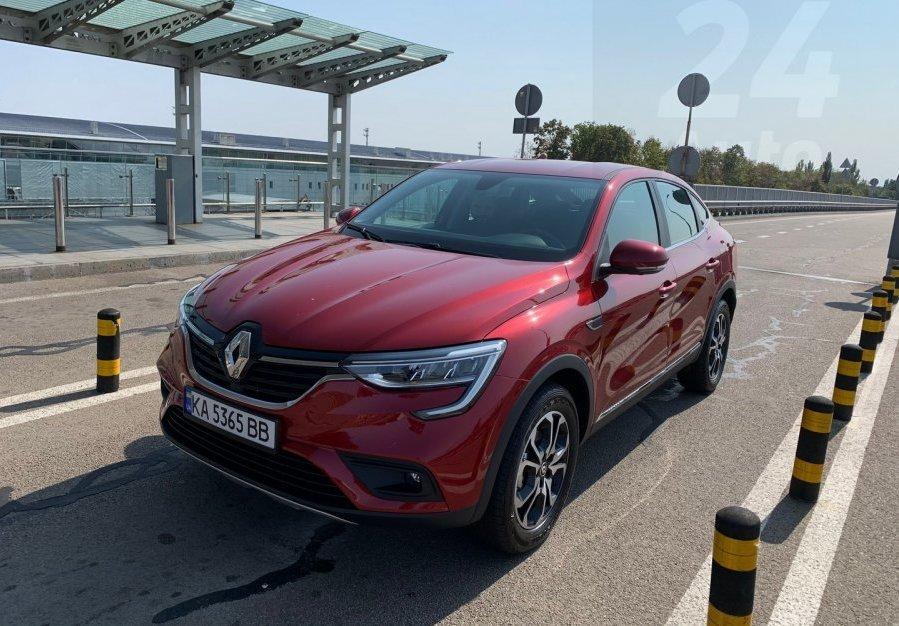 Раскрыта топовая комплектация кроссовера ЗАЗ Renault Arkana: характеристики и фото