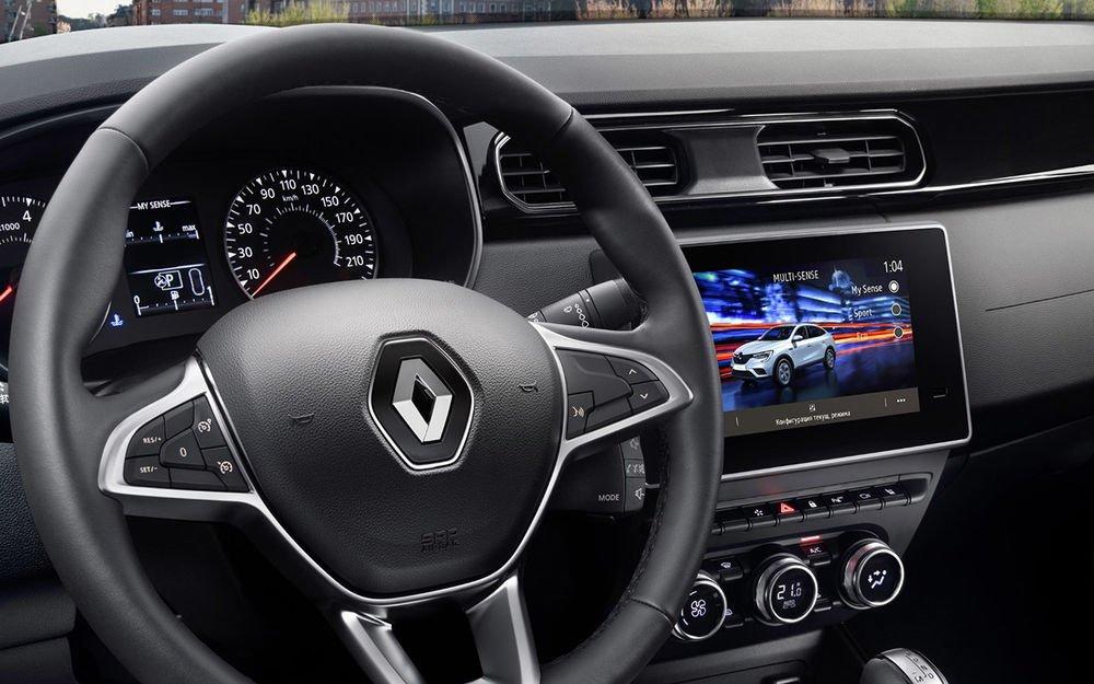 У Києві помітили кросовер Renault Arkana української збірки
