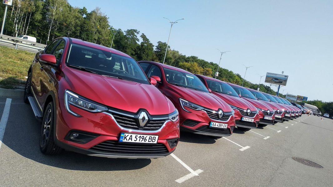 Renault Arkana от ЗАЗ: сколько автомобилей продали в Украине