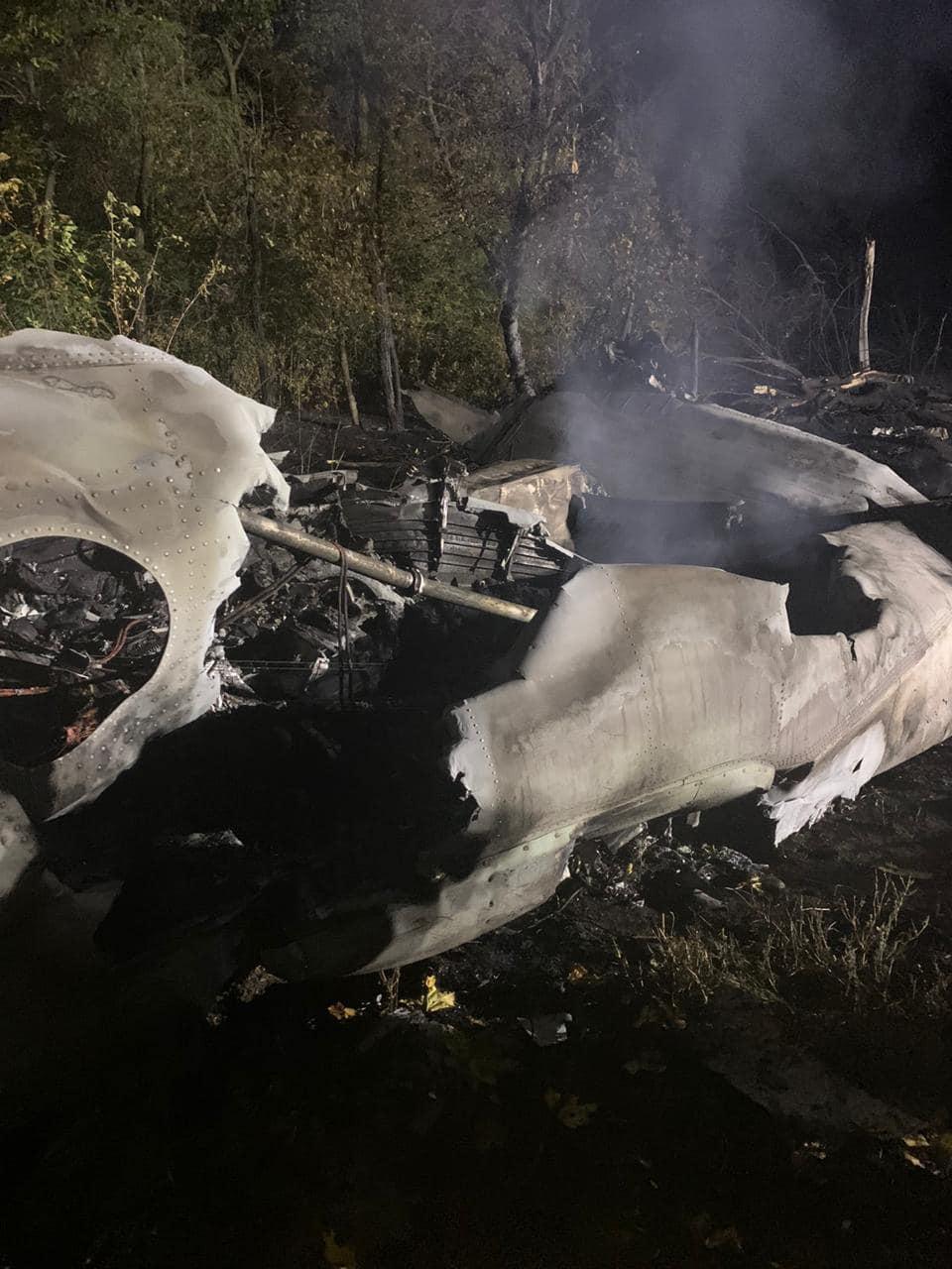 Авикатастрофа АН-26 под Харьковом: сообщают о гибели 20 человек
