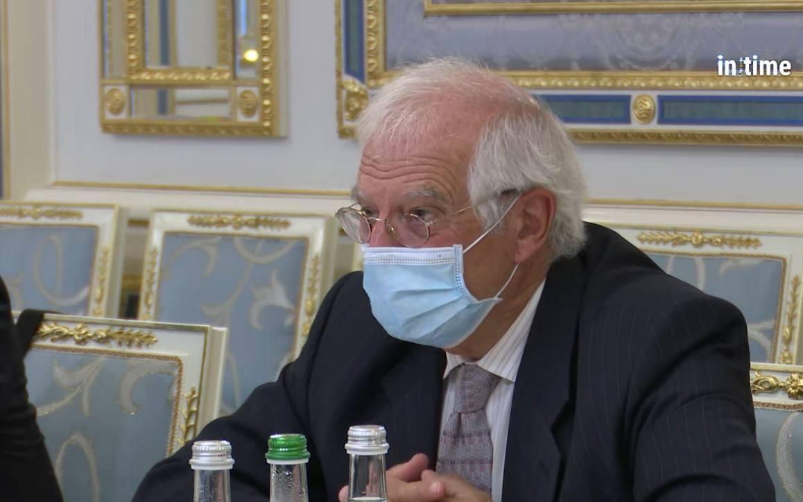 Глава зовнішньополітичної служби ЄС Боррель натякнув Зеленському, що ЄС - не банкомат