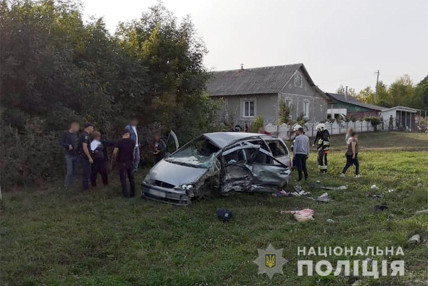 ДТП в Хмельницкой области: в столкновении легкового автомобиля и грузовика у легковушки было мало шансов