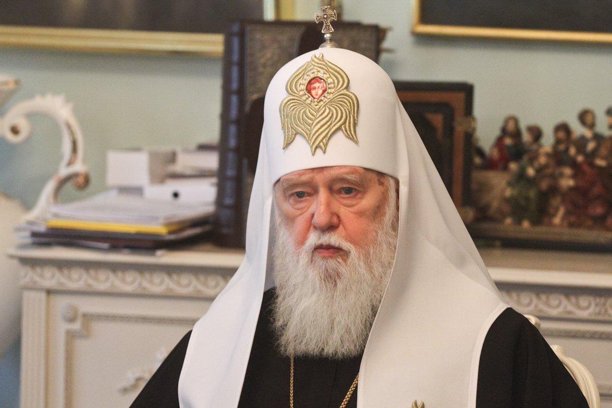 Патриарх Филарет выздоровел: у 91-летнего мужчины тест на коронавирус уже отрицательный - today.ua
