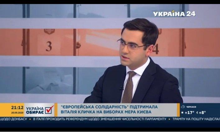 Гордон вважає, що до другого туру виборів київського мера вийде Смешко: посперечався на пляшку