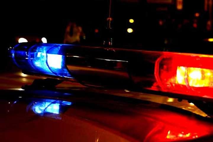 ДТП з Аudi і поліцейською машиною поблизу Києва: водій-утікач сам повернувся на місце події