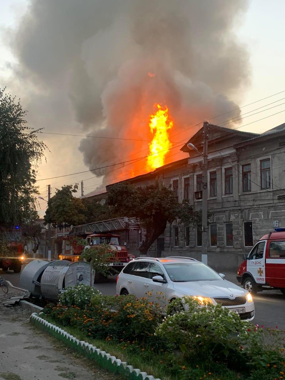 Пожежі в Харкові і Києві: людські жертви і багатогодинна боротьба з вогнем