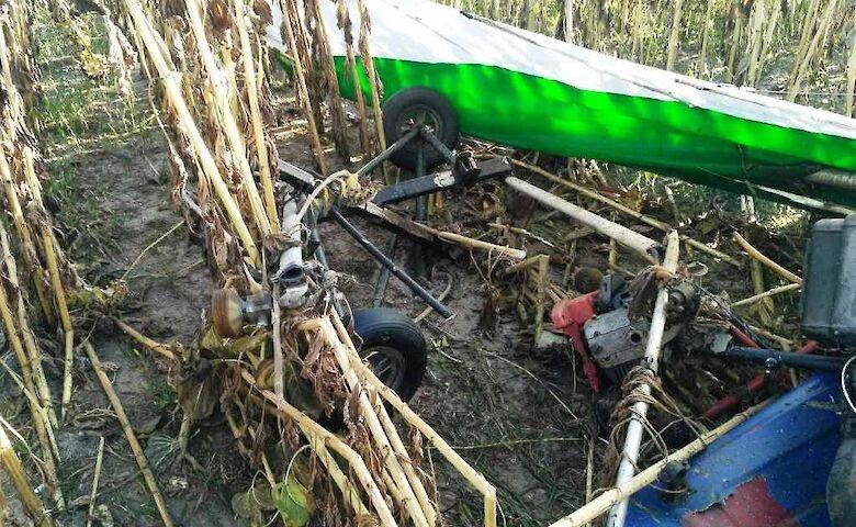 Аварія дельтаплана в Житомирській області: пілот не вижив - today.ua