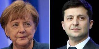 """Зеленский обсудил с Меркель ситуацию на Донбассе: канцлер обещала """"поговорить"""" с Путиным"""" - today.ua"""