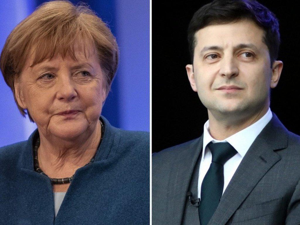 """Зеленский обсудил с Меркель ситуацию на Донбассе: канцлер обещала """"поговорить"""" с Путиным - today.ua"""