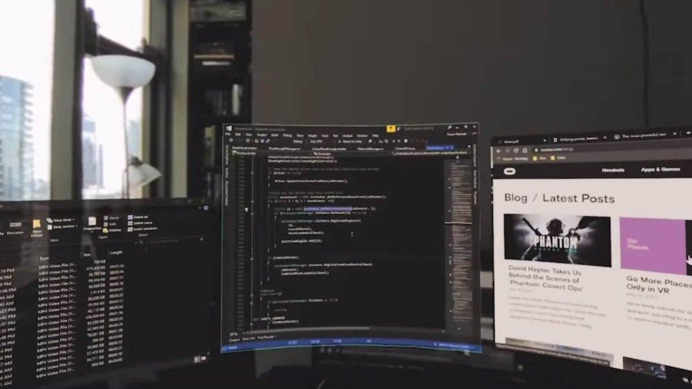 Рабочее место будущего показали в Facebook: удаленщики станут аватарами