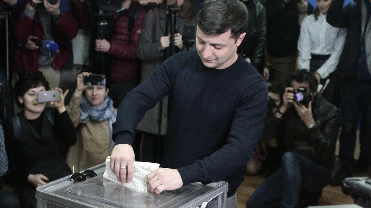 Громадяни України, які бажають відповісти «так» на чотири з п'яти питань Зеленського