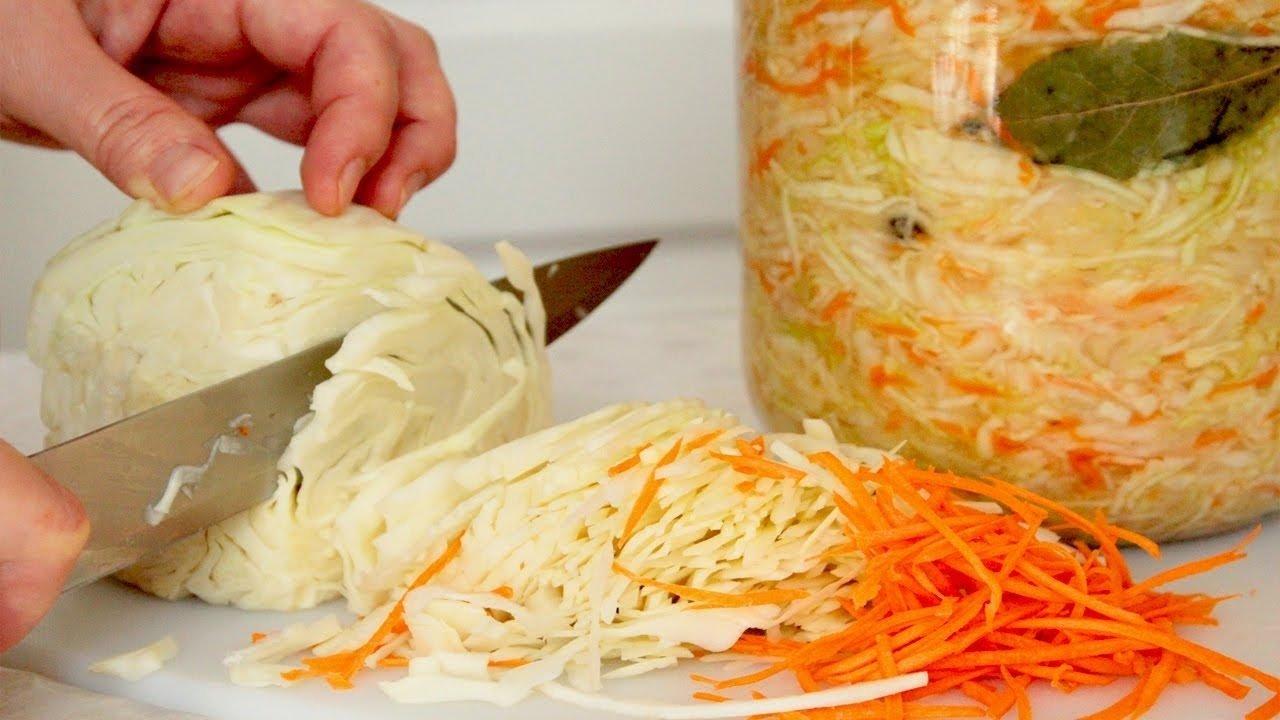 Квашена капуста на зиму: секрети приготування хрусткого салату з довгим терміном придатності