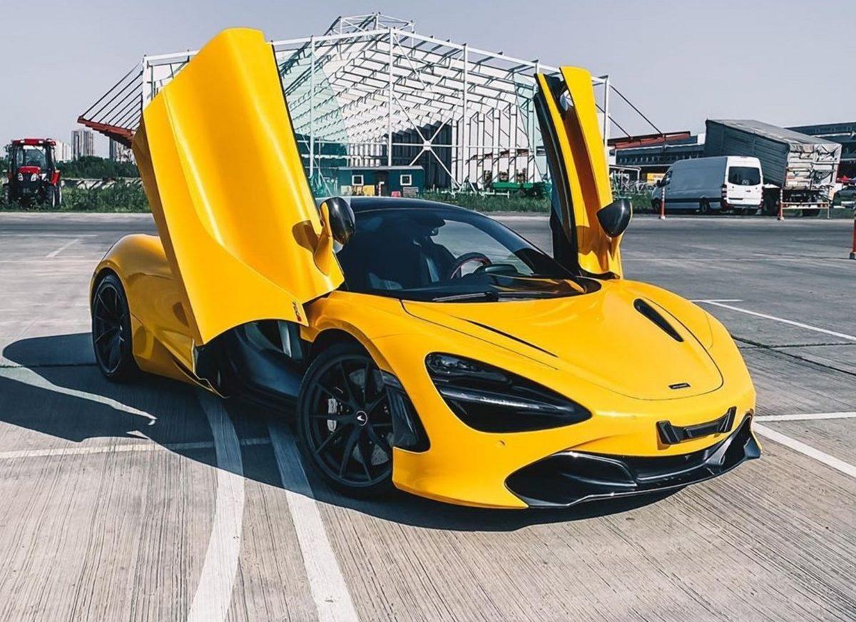 ТОП-5 самых дорогих авто в Украине за последние полгода