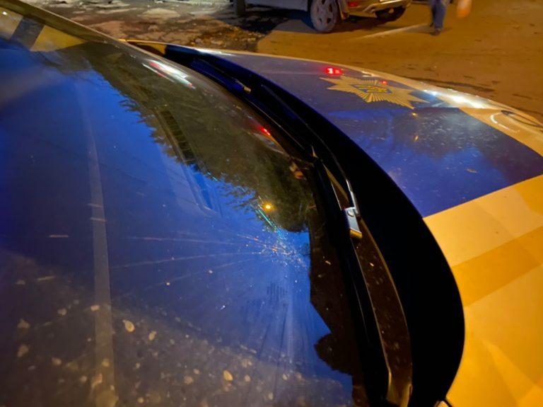 ДТП с автомобилем полицейских в Ужгороде: патрульная машина сбила женщину