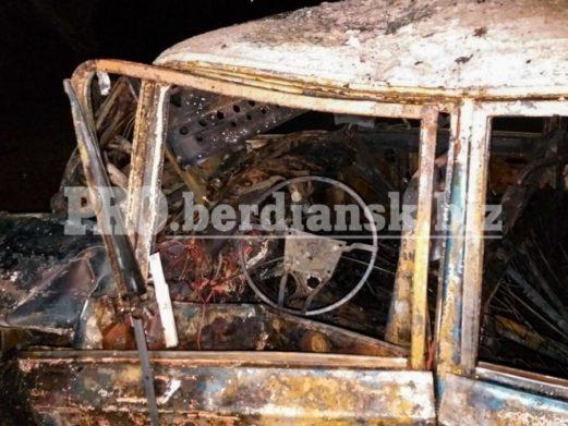 Жуткое ДТП в Запорожской области: водитель не смог выбраться из пылающей машины (фото) - today.ua