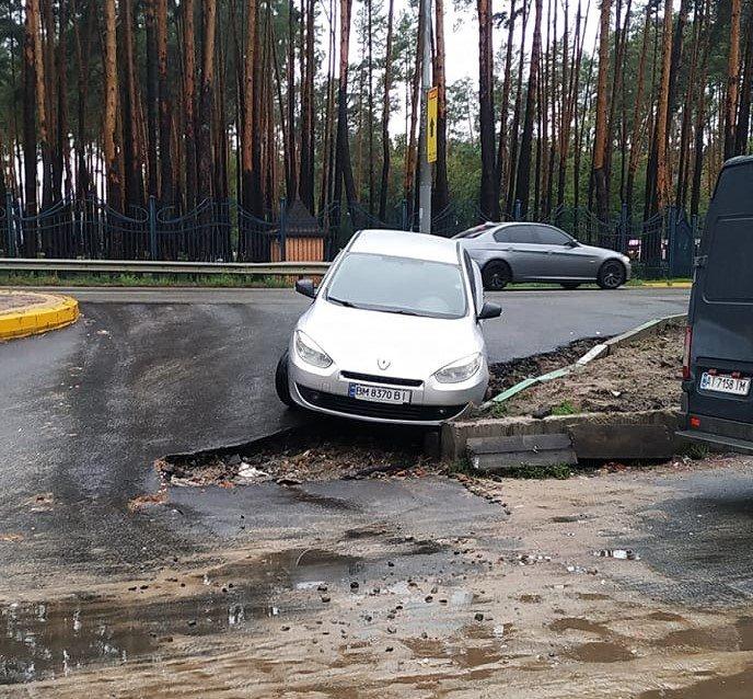Прокляте місце: перехрестя під Києвом,5 на якому регулярно трапляються курйозні ДТП