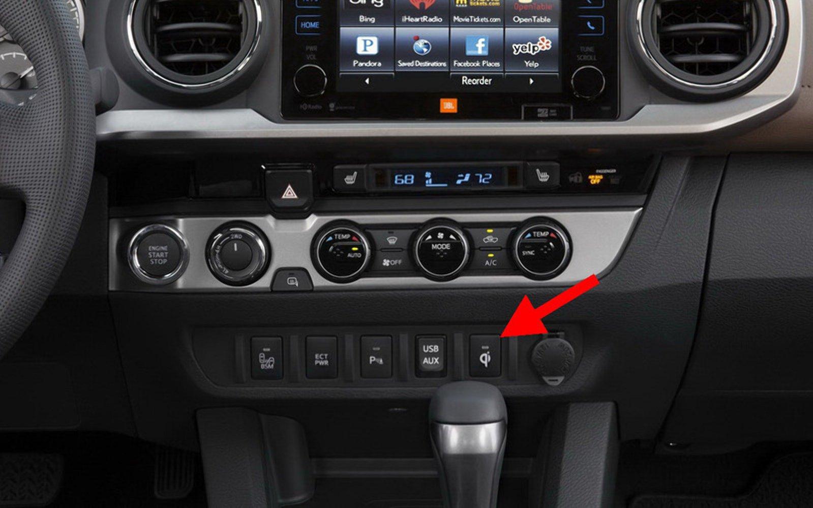 5 незрозумілих кнопок в автомобілях Toyota