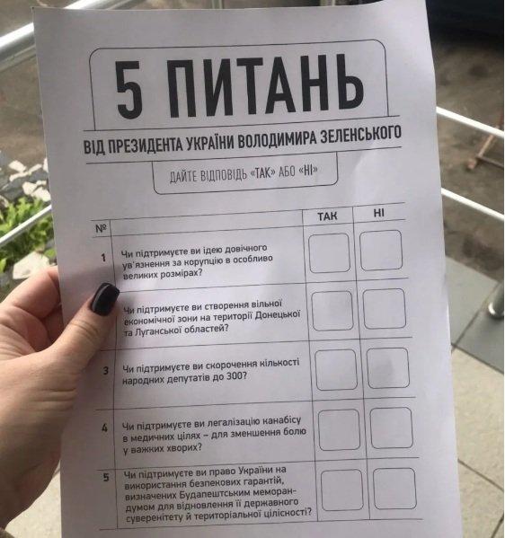 З'явилася інформація, як у день виборів проходить опитування від президента Володимира Зеленського
