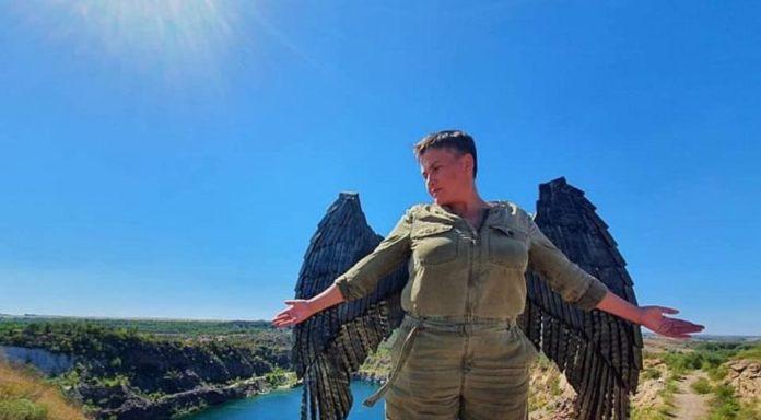 Надежда Савченко рассказала о своей толстой коже и об уровне интеллекта украинского общества