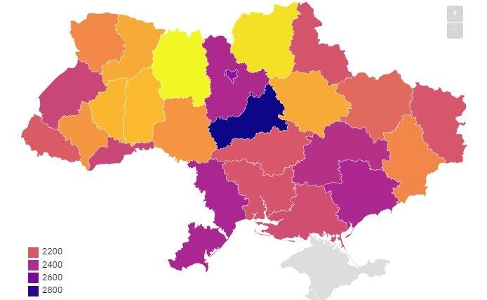 Українцям показали рейтинг регіонів за вартістю життя: найдорожчий - не Київ