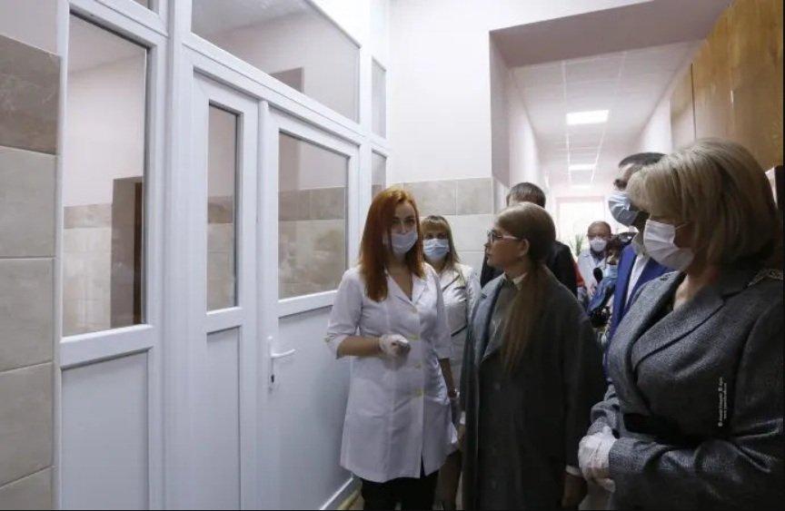 """Тимошенко розповіла, як захищати українців від коронавірусу, і про """"польські"""" зарплати медикам"""