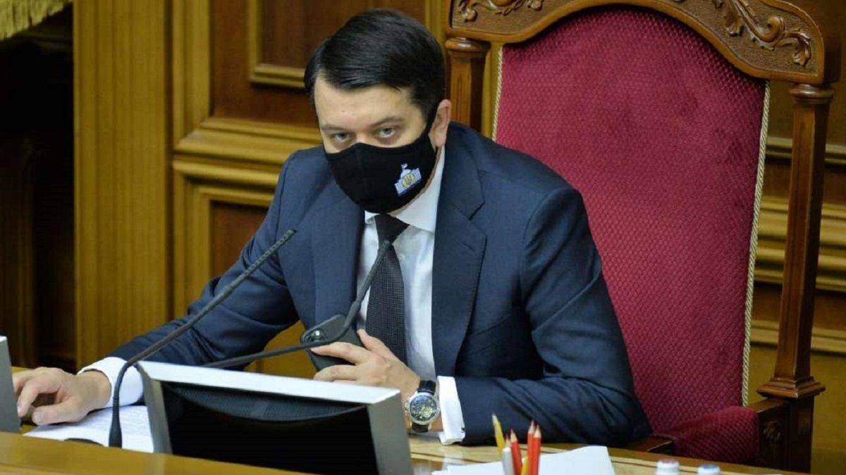 """Разумков розповів, що думає про можливість стати президентом України: """"Я трохи президент»"""