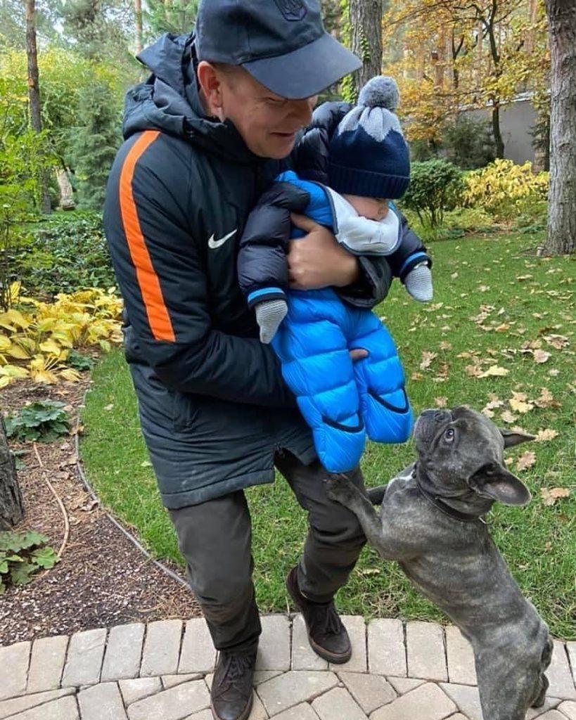 Олег Ляшко вперше показав свого 6-місячного сина
