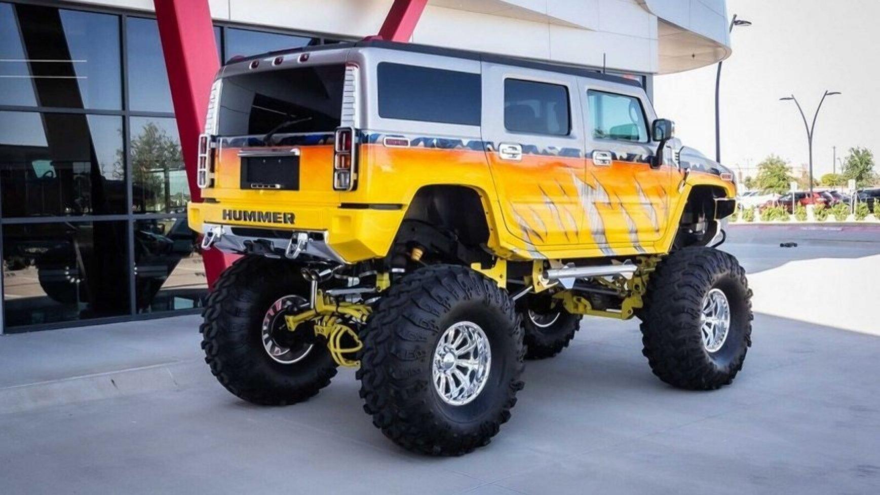 Продається найбільш екстремальний Hummer H2
