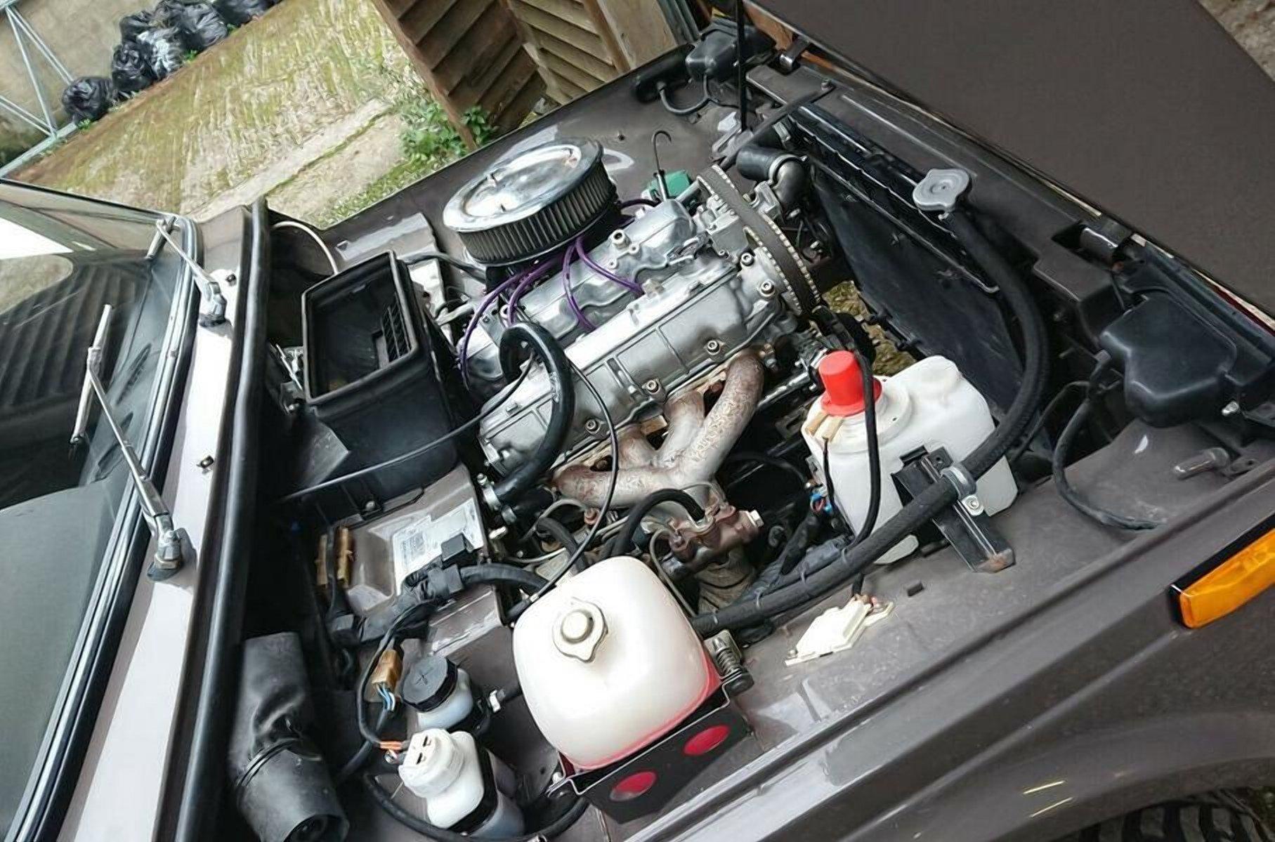 Классическая Lada Niva получила двигатель от Lancia
