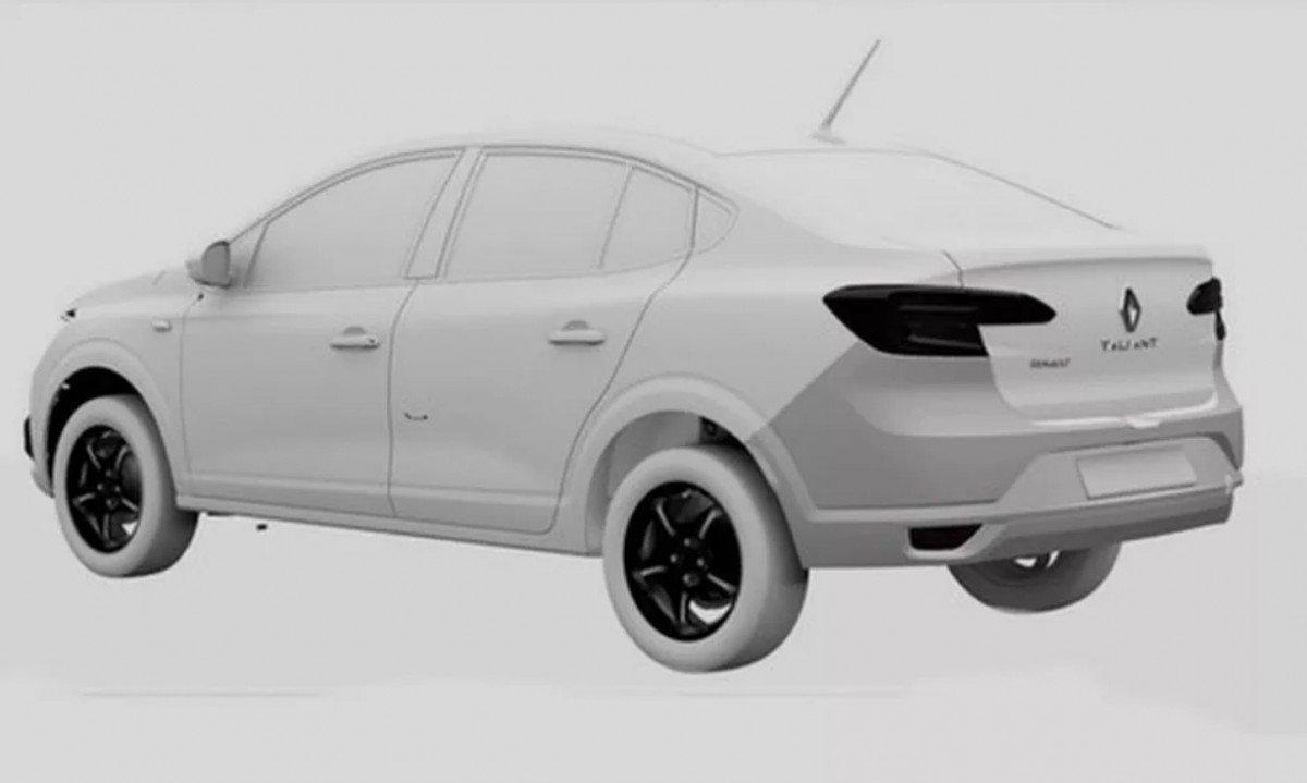 В Сети показали новый Renault Logan для Украины