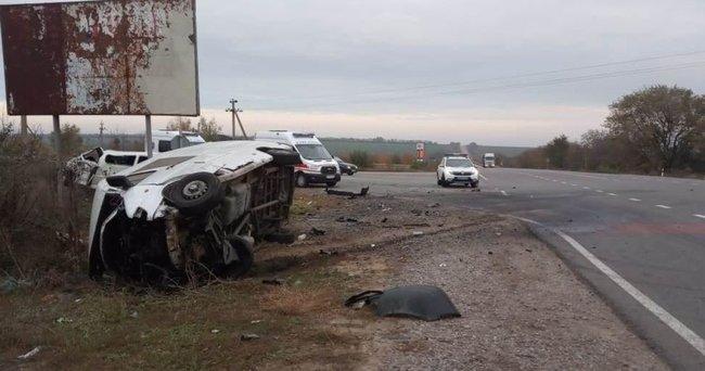 Смертельне зіткнення мікроавтобусів в Одеській області: в ДТП - двоє загиблих і багато постраждалих