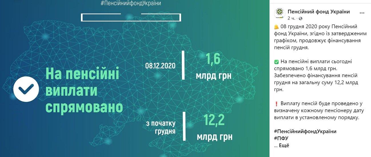 У ПФУ розповіли, чи будуть затримувати виплату пенсій в Україні в умовах кризи