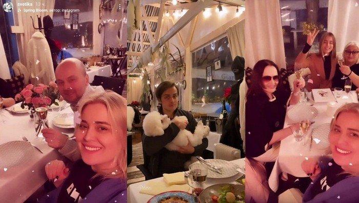 София Ротару с семьей в полном составе отдохнула в столичном ресторане