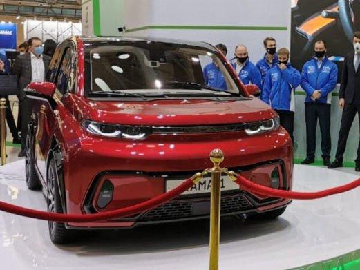 «КАМАЗ» представив легковий електромобіль - today.ua