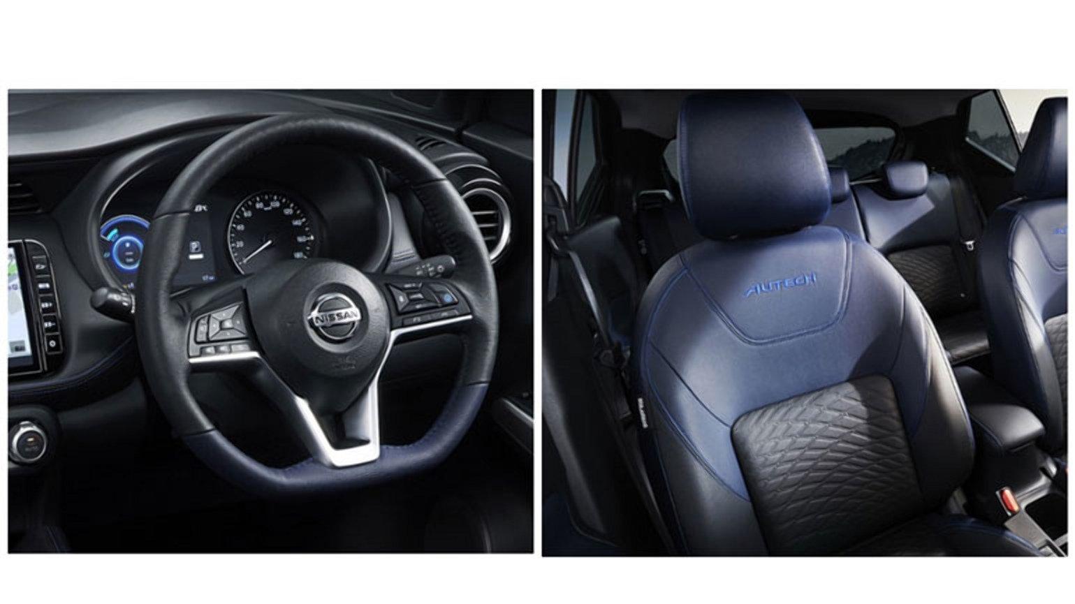 Nissan показав салон нового кросовера Kicks Autech