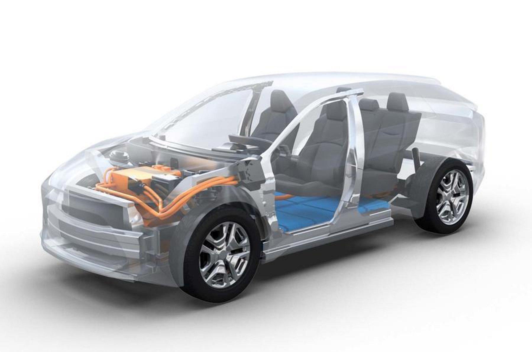 Subaru розробляє електричний кросовер в стилі Forester