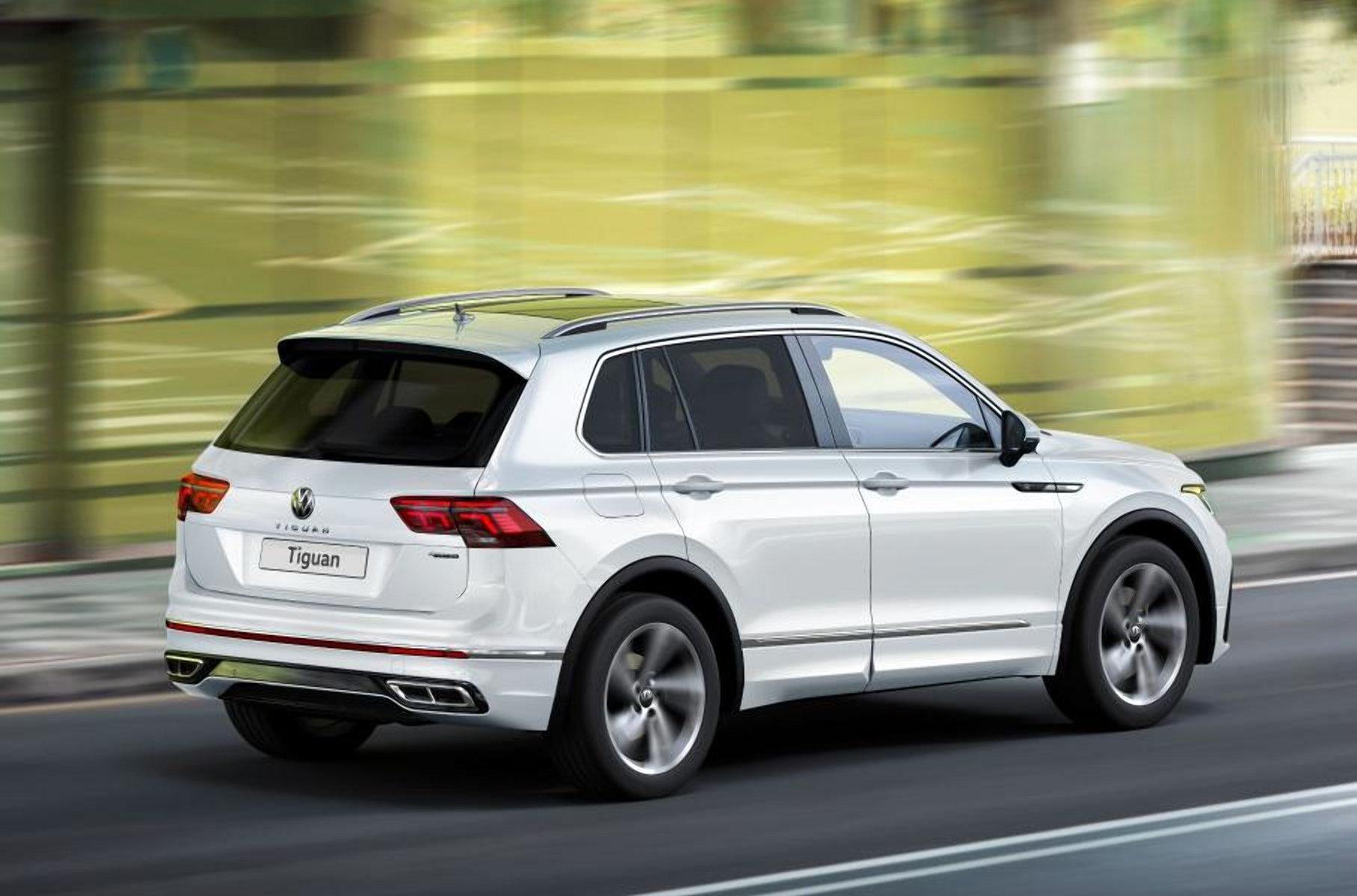 В Україні почалися продажі оновленого VW Tiguan