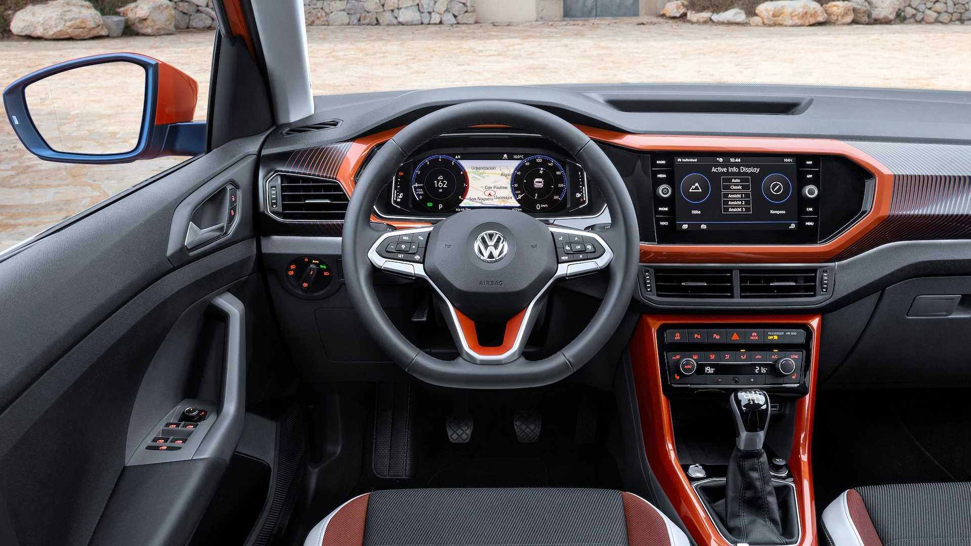 В Україні у дилерів з'явився Volkswagen T-Cross