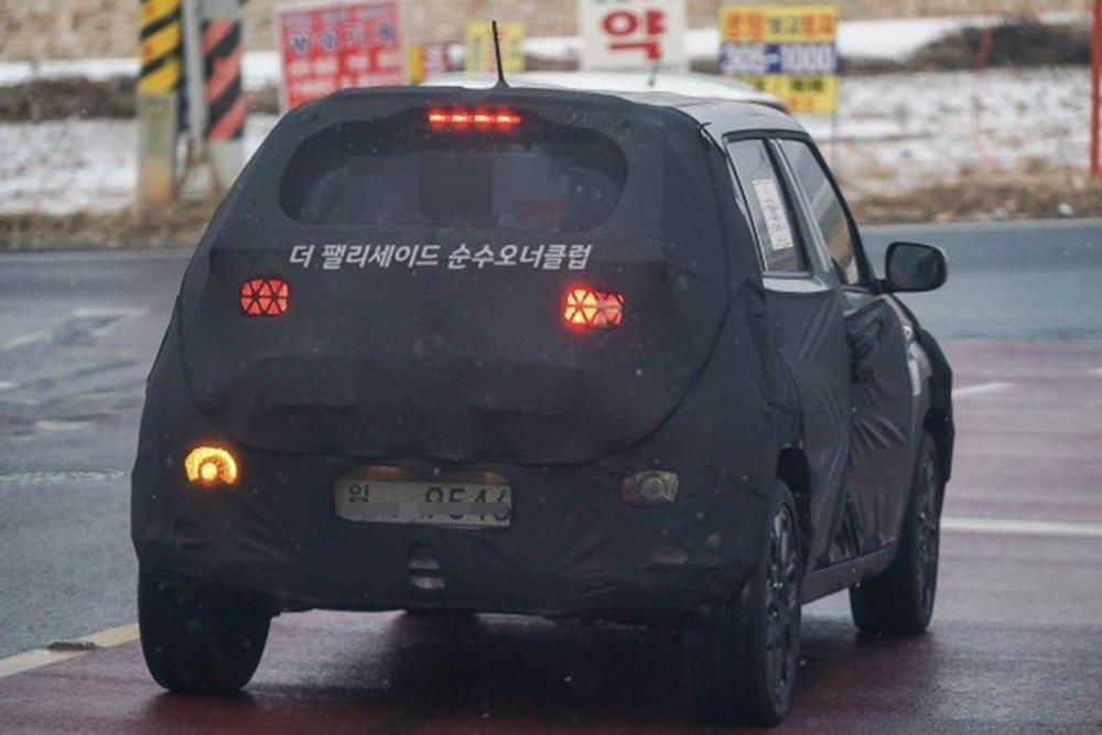 Hyundai тестує свій найдешевший кросовер
