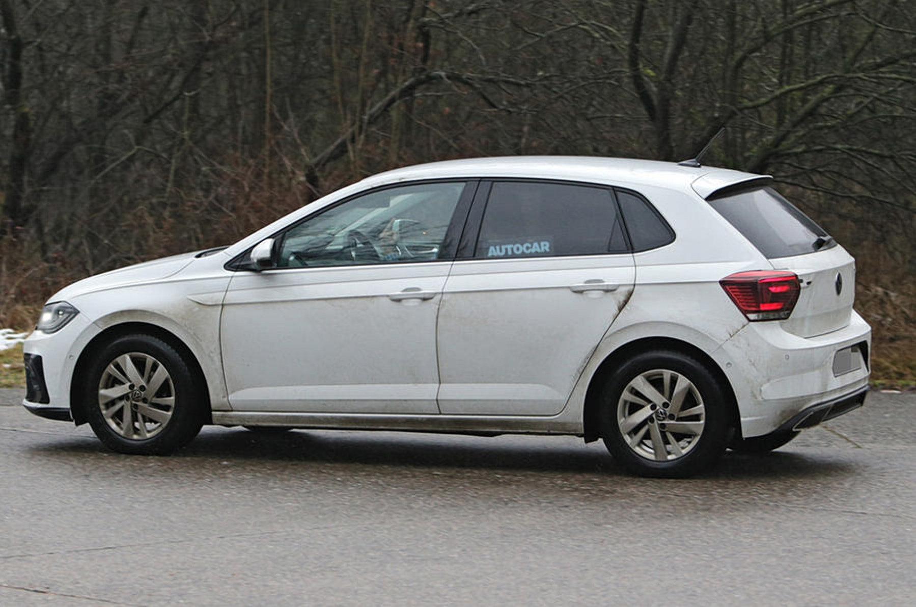 Volkswagen почав тестувати оновлений Polo