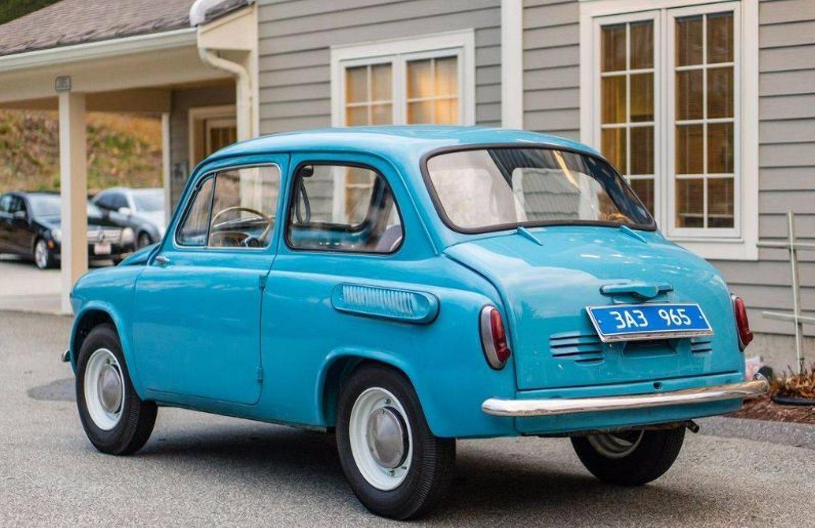 В США за 18 тысяч долларов продают ЗАЗ-965