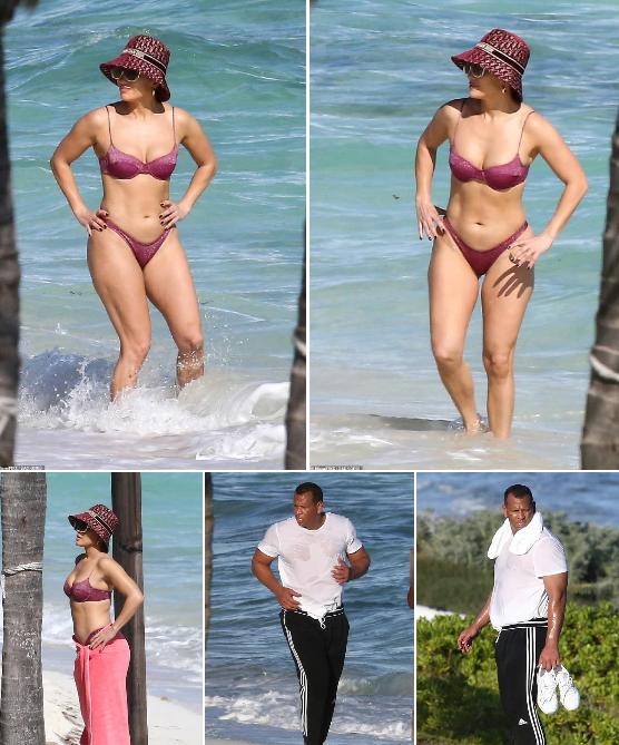Дженніфер Лопес постала перед публікою в купальнику: знімки без фотошопу